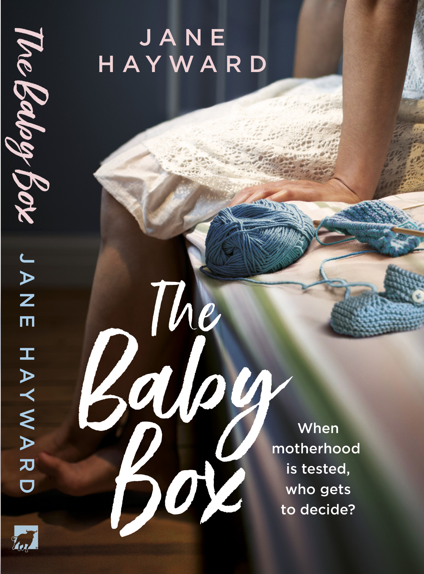 the Baby box front & spine